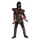 Red Skull Warrior Ninja Chld M