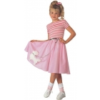 Nifty Fifties Costume Child Lg