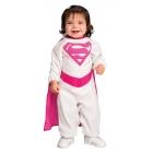 Pink Supergirl Newborn Costume
