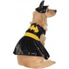 Pet Costume Batgirl Medium