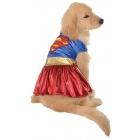 Pet Costume Supergirl Sm
