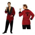 Hugh Hefner Smoking Jacket Xl