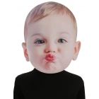 Baby Kissing Face