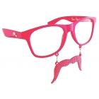Sunstache Pink Stache Cl