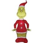 Airblown Grinch As Santa Sm