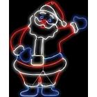 Light Glo Santa