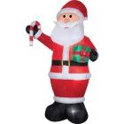Airblown Santa Gift Candy Cane