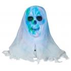 Lightshow Skull Bust White Fac