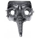 Steam Punk Mask Long Nose-Blac