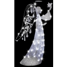 Jeweled Crystal Angel Clear