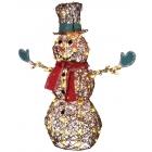 Starry Night Grapevine Snowman