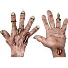 Zombie Flesh Latex Hands