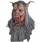 Brown Wolf Latex Mask