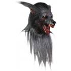 Black Wolf Adult Latex Mask