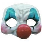 Happy Clown Latex Half Mask