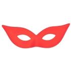 Harlequin Mask Satin Red