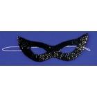 Cat Mask Sequin Black