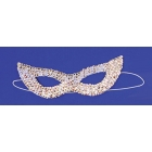 Cat Mask Sequin Silver