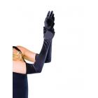 Gloves Satin Long White