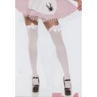Stockings Thi Hi Wt W/Bow Plus