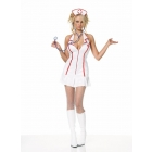 Nurse Head Zip Dress Xx Large