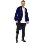 Long Velvet Coat  Adult Xl