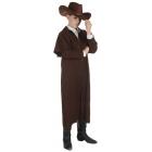 Wild West Duster Coat Ch Brown