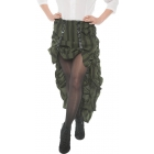 Steam Punk Skirt Ad Green Xl