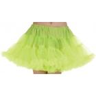 Petticoat Tutu Adlt Neon Green