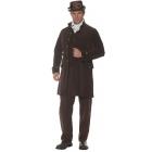 Frock Coat Adult Brown Std