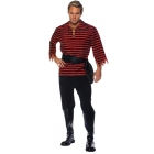Pirate Set Ad Black/Red Xxl