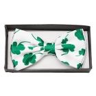 Bow Tie Four Leaf Clover