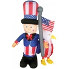 Inflate Uncle Sam W Eagle 6 Ft