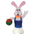 Inflate Bunny W Egg 7Ft