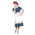 I Love Lucy Polka Dot Dress Sm