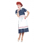 I Love Lucy Polka Dot Dress Lg