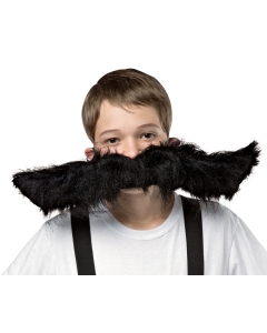 Super Stache Black 20 In