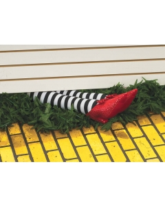 Wicked Witch Legs Prop 18In