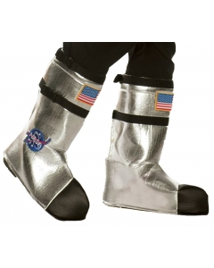 Astronaut Boot Tops Ad Silver
